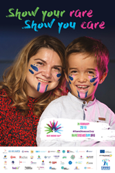 Rare Disease Day 2019 poster